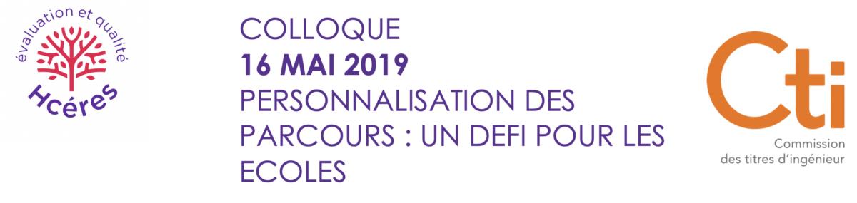Save the date : colloque Hcéres-CTI le 16 mai sur la personnalisation des parcours