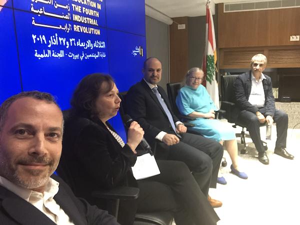 La 4ème révolution industrielle et ses impacts sur l'enseignementau coeur d'un colloqueau Liban