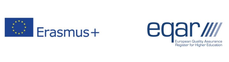 Logos Erasmus + et EQAR