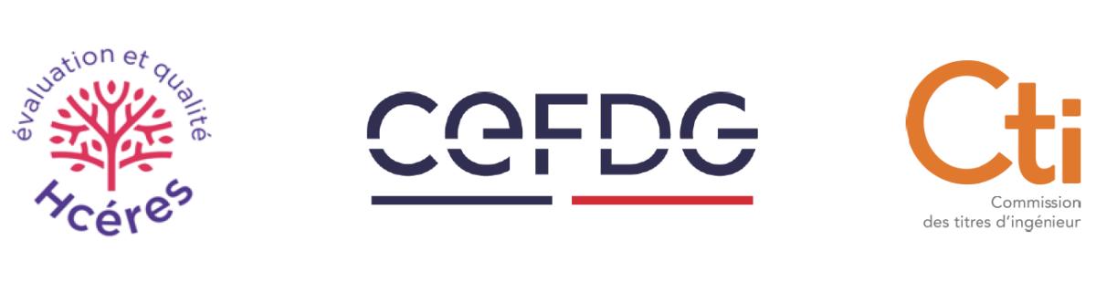 Logos CTI CEFDG HCERES